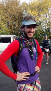 Me before the start of the 2015 White Rose Ultra in Yorkshire.