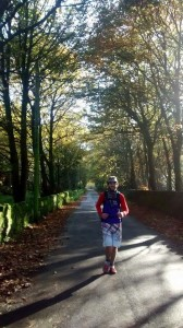 Somewhere along the last 5 miles of the first 30 mile lap of the White Rose Ultra.
