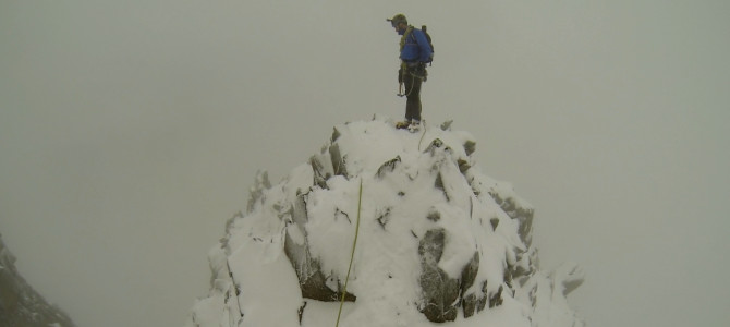 Winter Scrambling Weekend in Wales