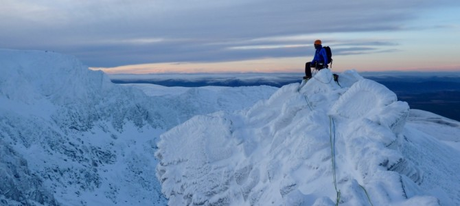 Scottish Winter Climbing Adventures in the Cairngorms