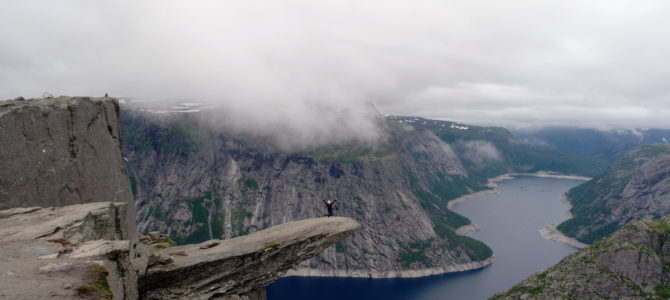 Circular Trolltunga Hike in Norway