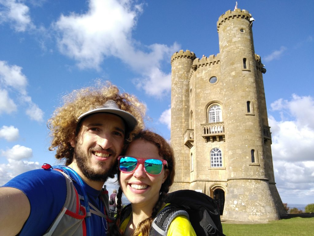 A selfie with Broadway Tower.
