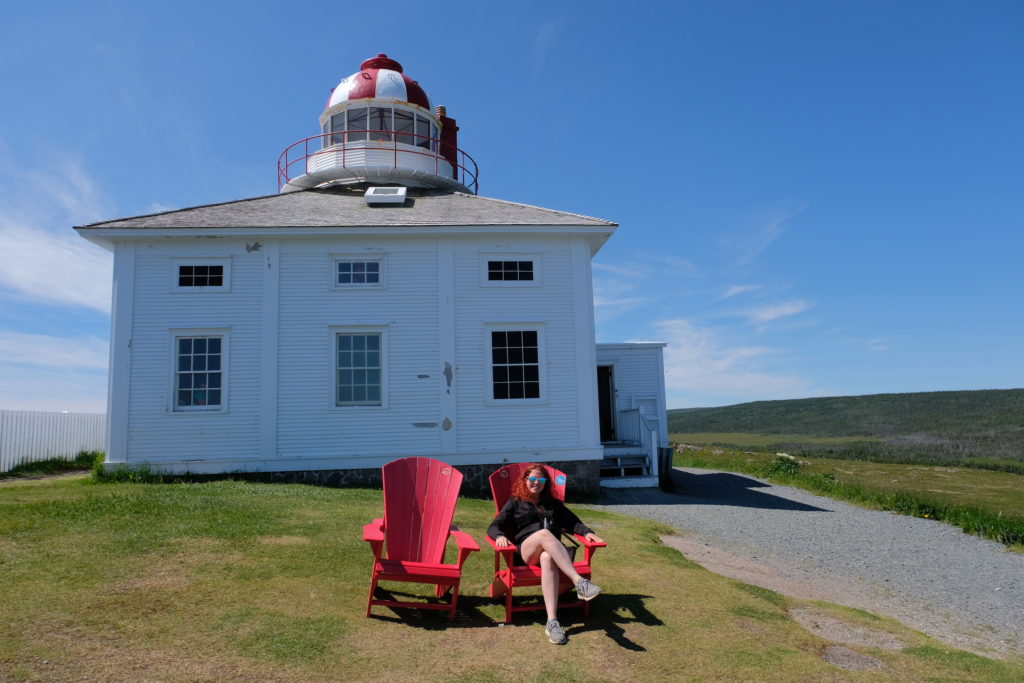 At Cape Spear - the most Eastern point of the Americas