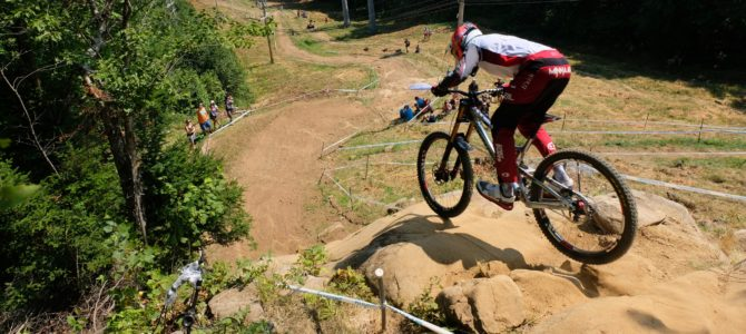 Mont Sainte Anne Downhill World Cup 2017