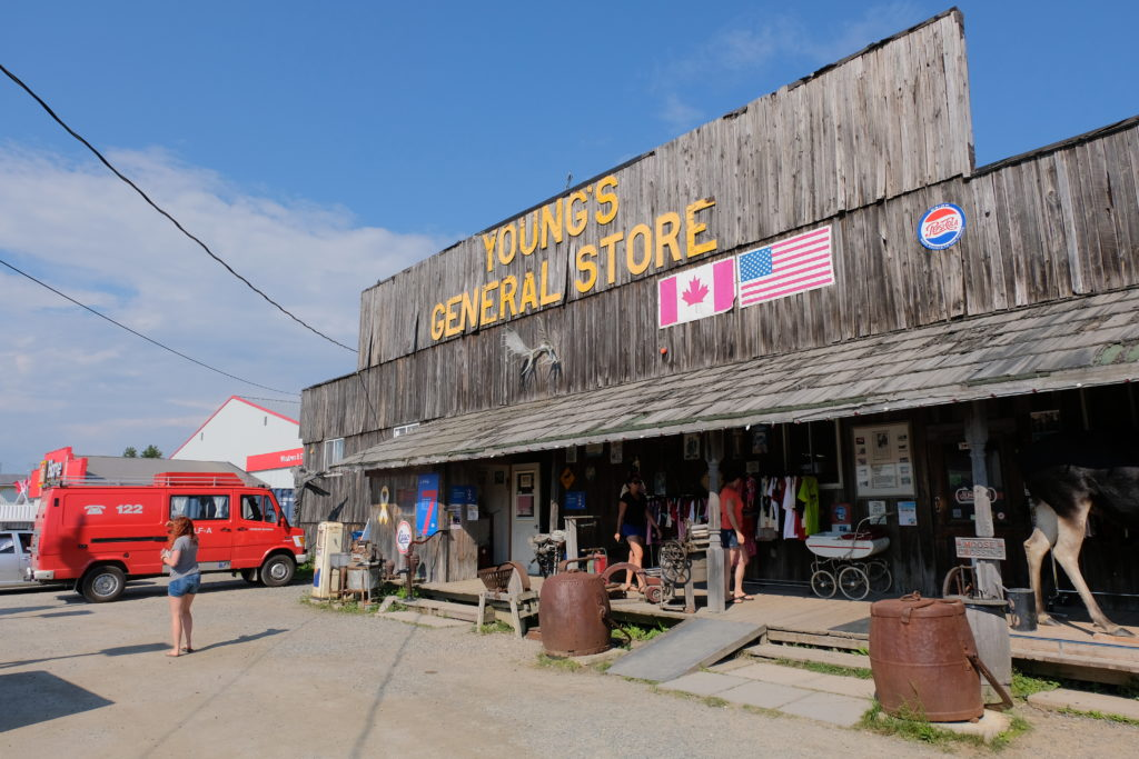 Young's General Store in Wawa