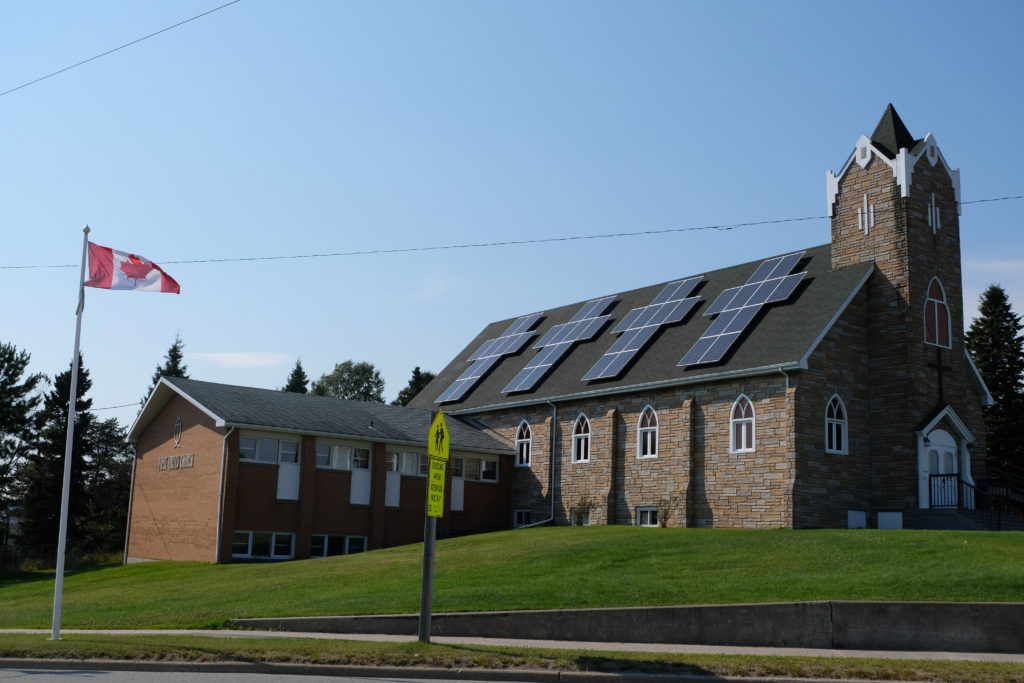 The best church solar panels ever...