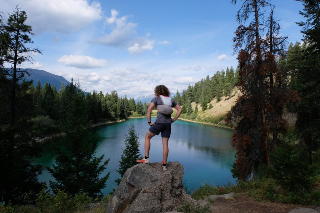 One of the five lakes (maybe the third??!)