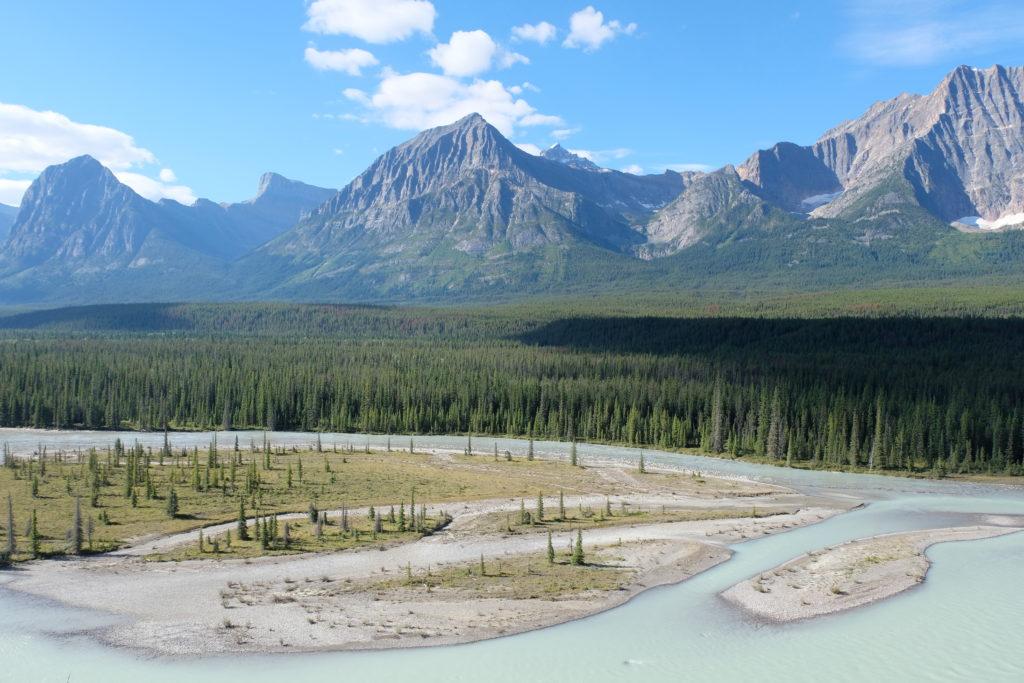 Beautiful views at Goats and Glaciers