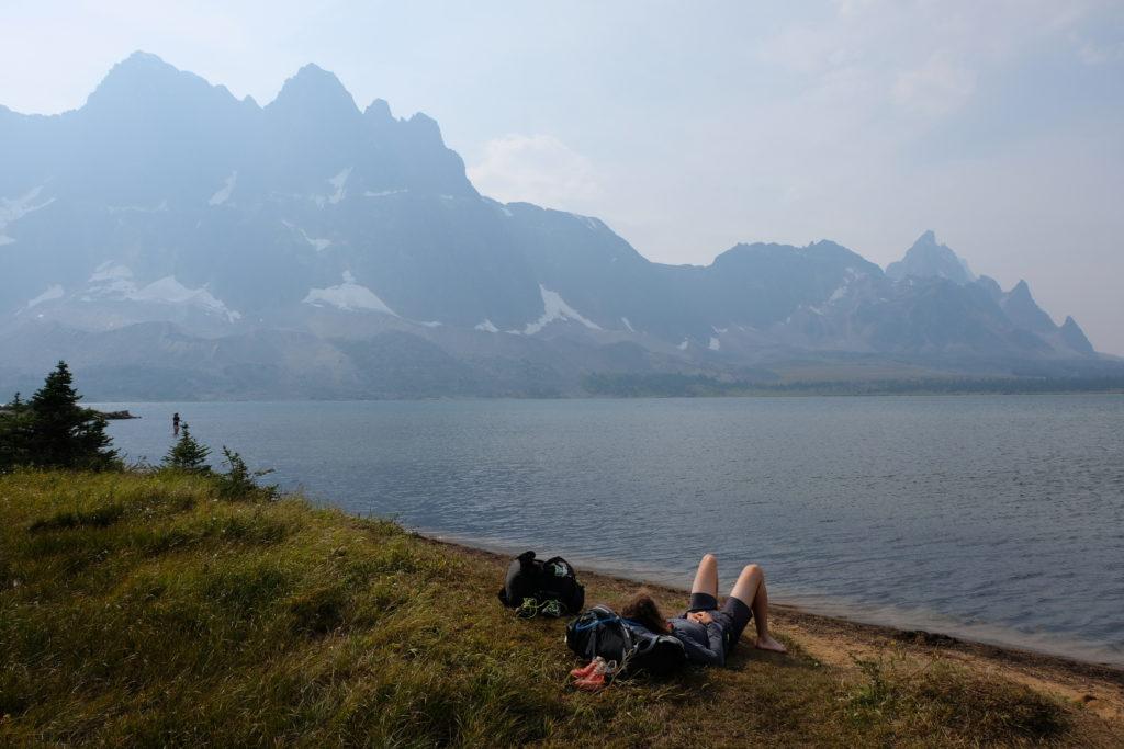 Chilling at Amethyst Lake