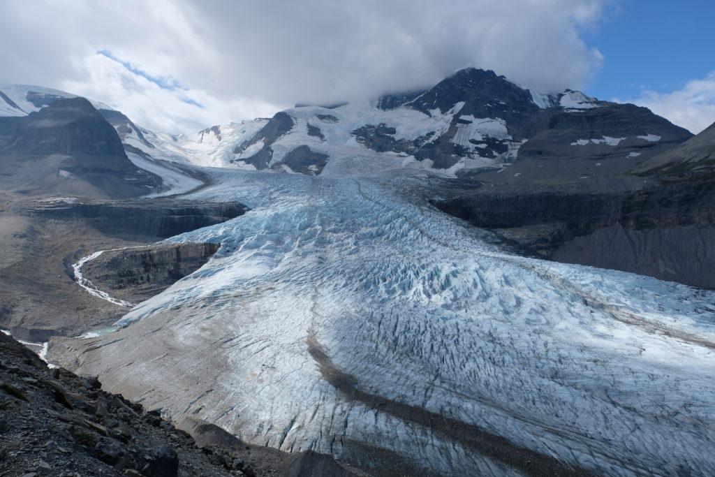 Stunning Mount Robson glacier
