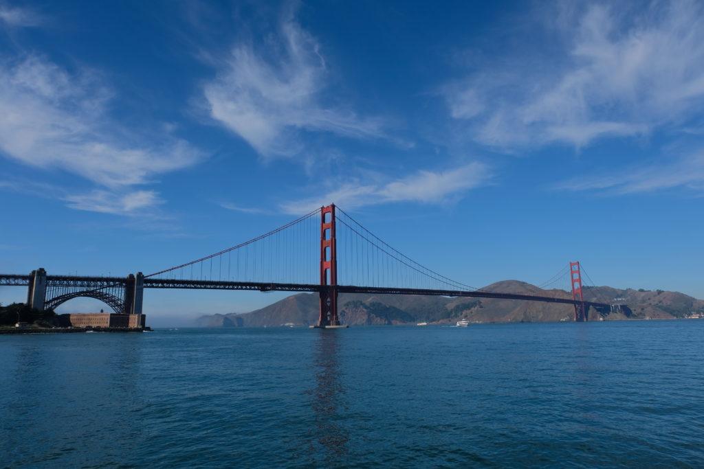 Ticking off the golden gate bridge