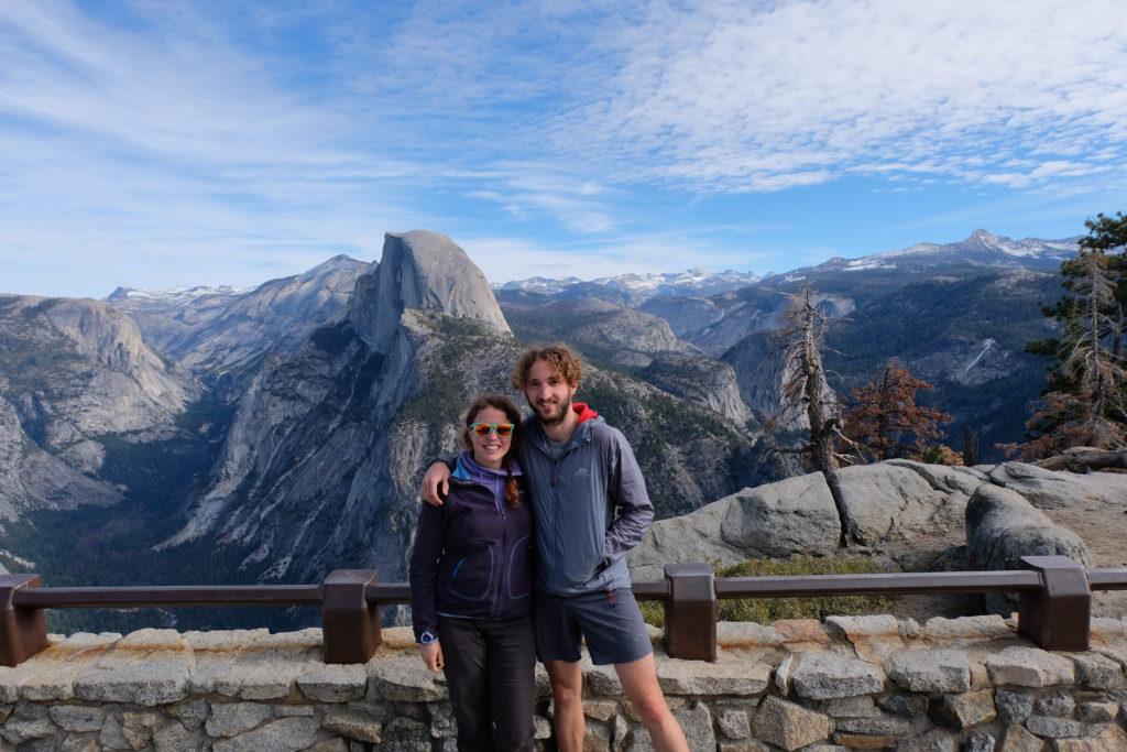 And hiking the amazing Yosemite!